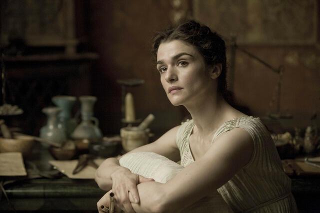 Rachel Weisz als Hypatia