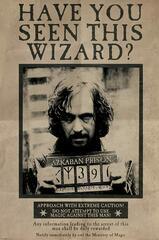 Gesucht-Poster von Sirius Black