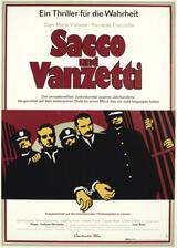 Sacco und Vanzetti - Poster
