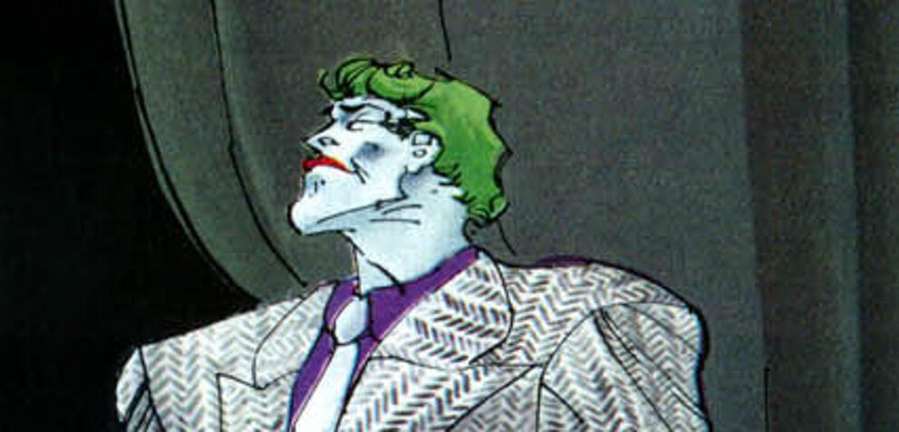Der Joker in The Dark Knight Returns