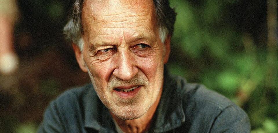 Werner Herzog am Set von Rescue Dawn