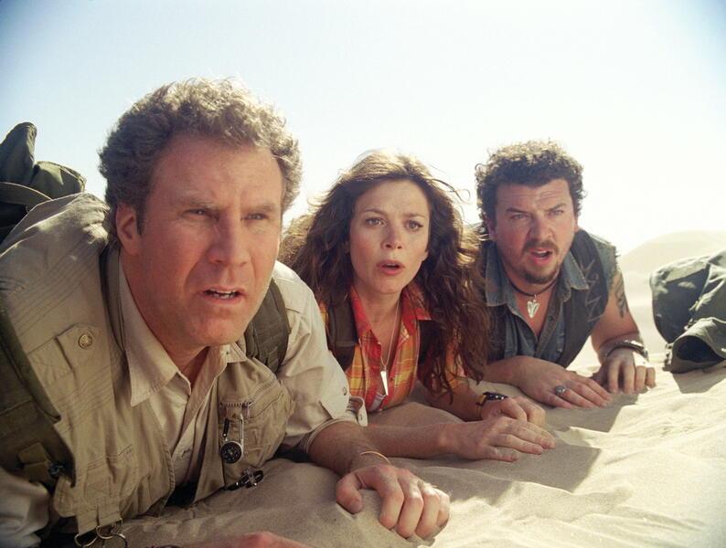 Die fast vergessene Welt mit Will Ferrell, Danny McBride und Anna Friel