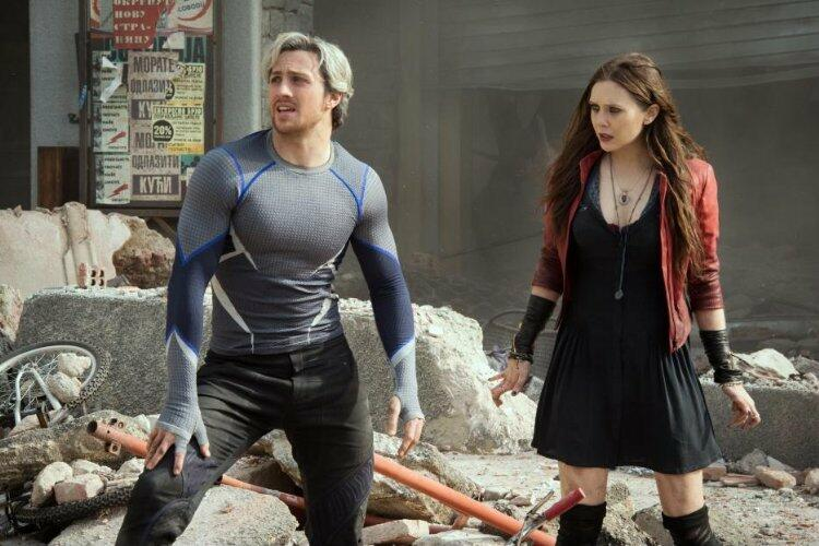 Marvel's The Avengers 2: Age of Ultron mit Aaron Taylor-Johnson und Elizabeth Olsen