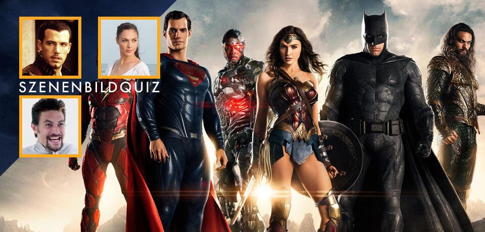 Erkennt die Filme der Justice-League-Stars anhand der Szenenbilder im Quiz!