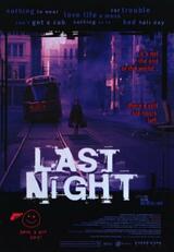 Last Night - Poster
