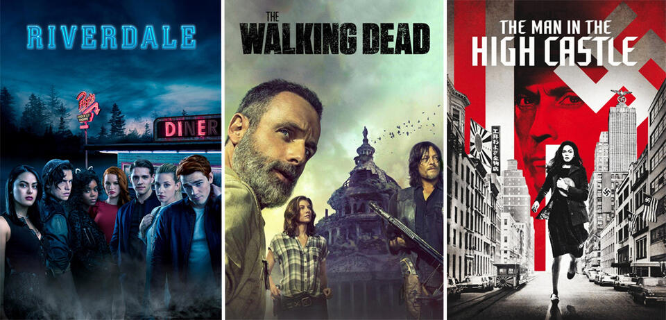 Riverdale/The Walking Dead/The Man in the High Castle