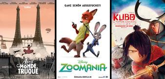 Top 10 der besten Animationsfilme 2016