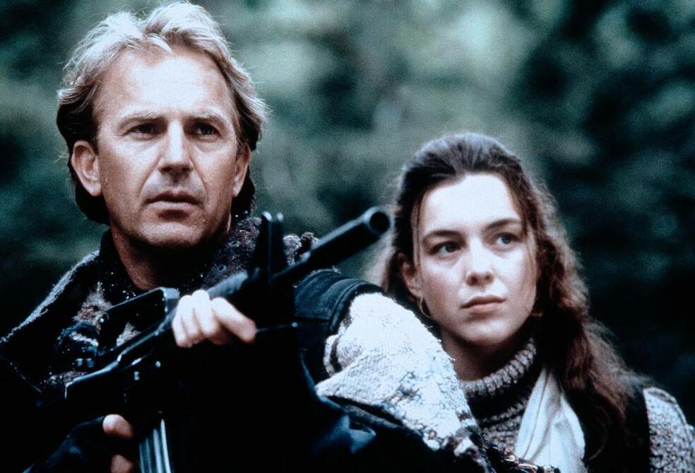 Postman mit Kevin Costner und Olivia Williams