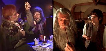 Der Herr der Ringe im Vergleich: Frodo & Gandalf