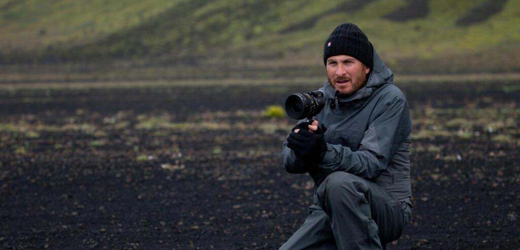 Darren Aronofsky am Set von Noah