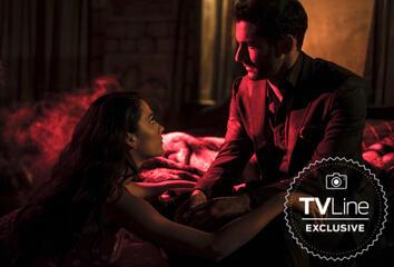 Eva (Inbar Lavi) und Lucifer (Tom Ellis)