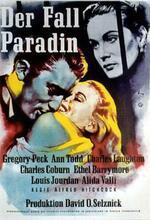 Der Fall Paradin Poster