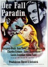 Der Fall Paradin - Poster