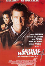Lethal Weapon 4 - Zwei Profis räumen auf Poster