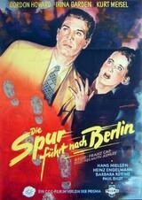 Die Spur führt nach Berlin - Poster