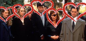 Bild zu:  Einige Charaktere aus Twin Peaks in einem stillen Moment