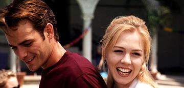Luke Perry und Jennie Garth in Beverly Hills 90210