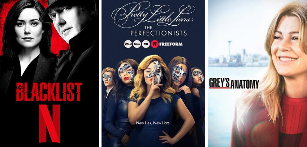 Neue Serien und Staffeln im März 2019