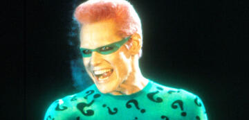 Jim Carrey als Riddler in Batman Forever