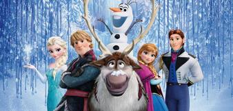 Die bunte Frozen-Clique