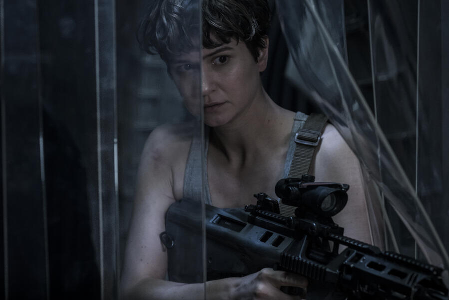 Alien: Covenant mit Katherine Waterston