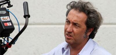 Paolo Sorrentino am Set von Ewige Jugend