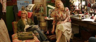Star und Sternchen - Meryl Streep und Lindsay Lohan in Robert Altman's Last Radio Show