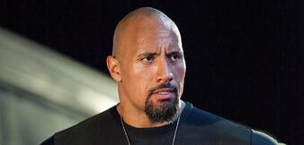 Dwayne Johnson in Fast & Furious Five