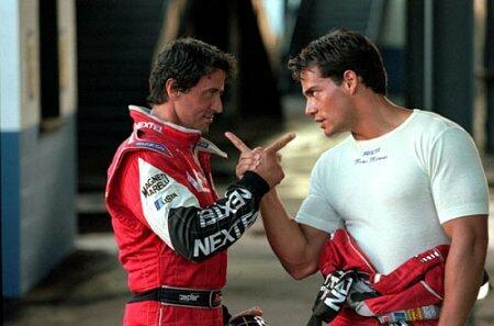 Driven mit Sylvester Stallone und Cristián de la Fuente