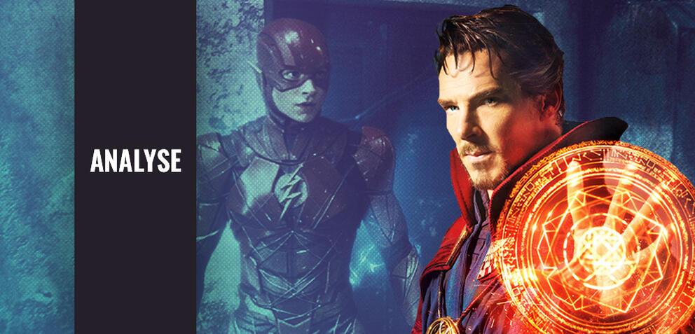 The Flash und Doctor Strange