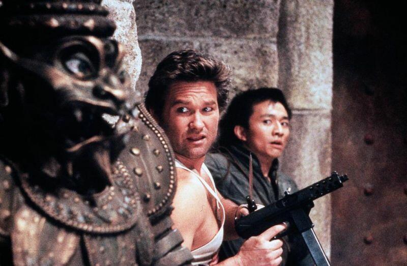 Big Trouble in Little China mit Kurt Russell und Dennis Dun