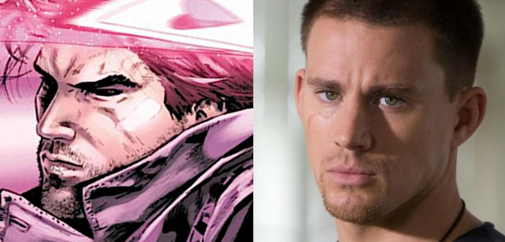 Gambit und Channing Tatum
