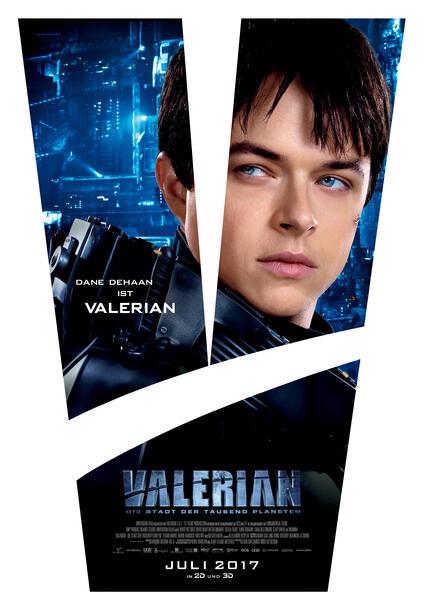 Valerian - Die Stadt der tausend Planeten mit Dane DeHaan