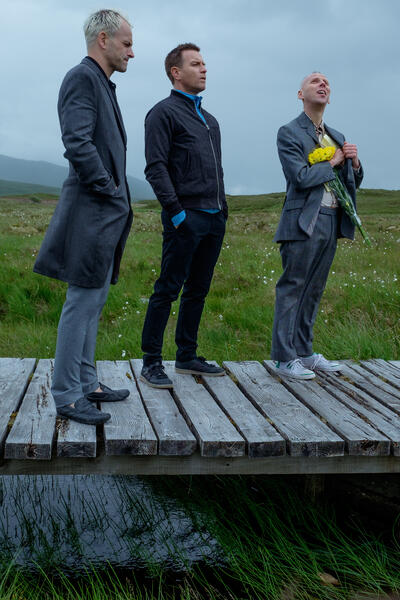 T2 Trainspotting mit Ewan McGregor, Jonny Lee Miller und Ewen Bremner