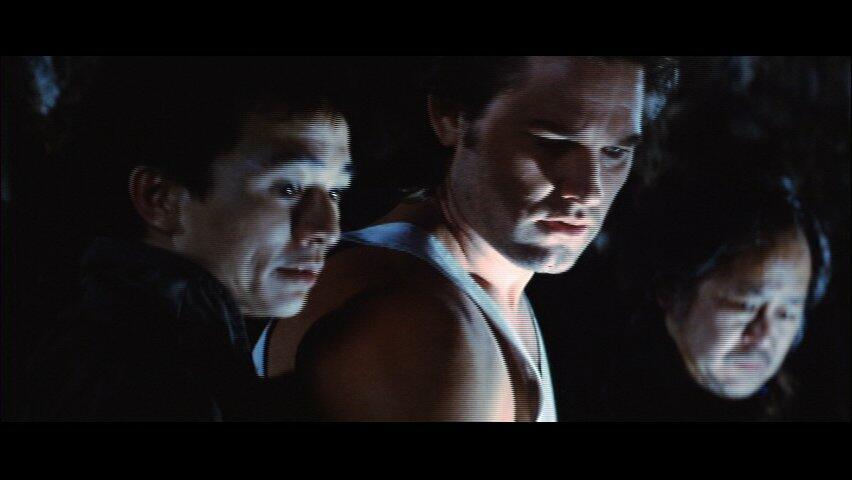 Big Trouble in Little China mit Kurt Russell, Victor Wong und Dennis Dun