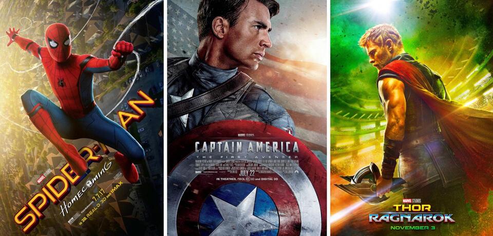 Spidey, Cap und Thor