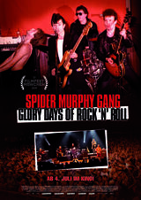 Spider Murphy Gang - Glory Days of Rock 'n' Roll - Poster