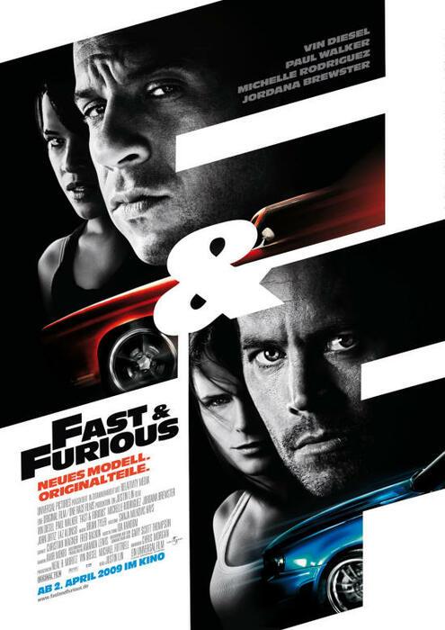 Fast & Furious – Neues Modell. Originalteile. Besetzung