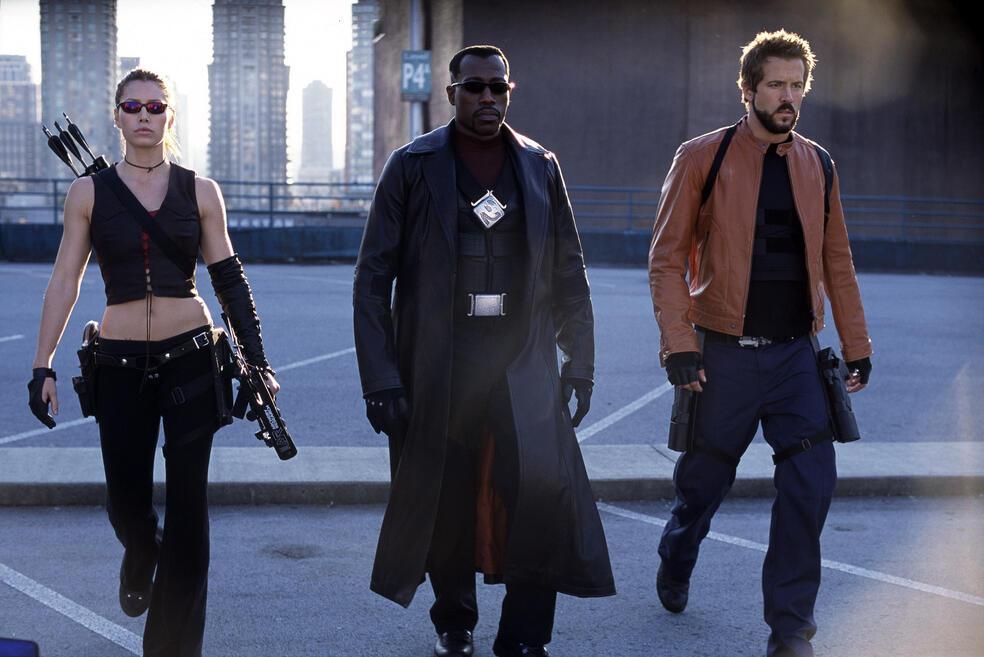 Blade: Trinity mit Ryan Reynolds, Jessica Biel und Wesley Snipes