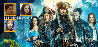 Johnny Depp, Kaya Scodelario und Geoffrey Rush spielen mit in Pirates of the Caribbean: Salazars Rache