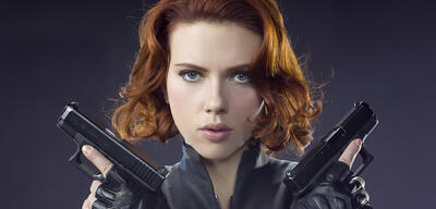Scarlett Johansson als Black Widow
