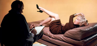 Marilyn Monroe in Blondinen bevorzugt