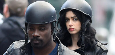 Jessica Jones und Luke Cage