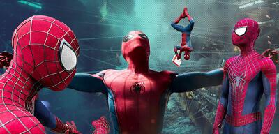 Spider-Man: Tobey Maguire, Andrew Garfield und Tom Holland