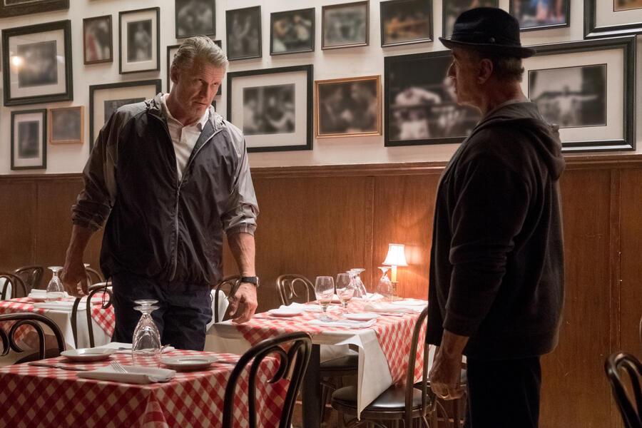 Creed II mit Sylvester Stallone und Dolph Lundgren