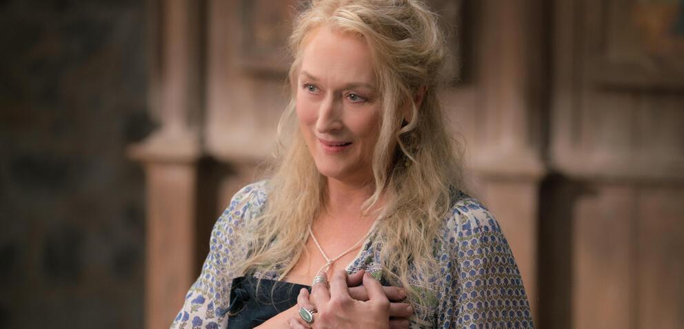 Meryl Streep in Mamma Mia 2! Here We Go Again