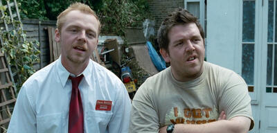Simon Pegg und Nick Frost in Shaun of the Dead