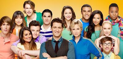 Der Cast von Glee