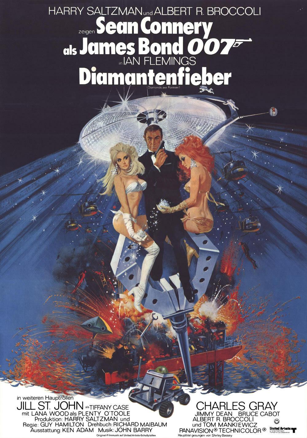 James Bond Diamantenfieber Stream