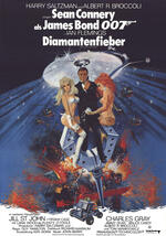James Bond 007 - Diamantenfieber Poster